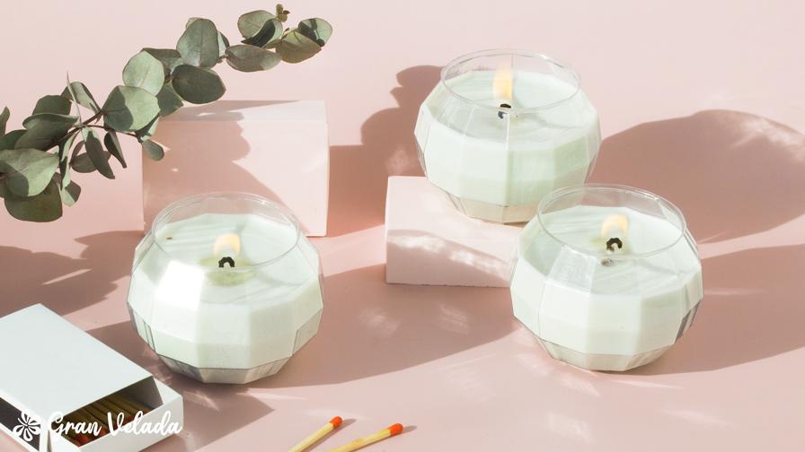 velas de soja