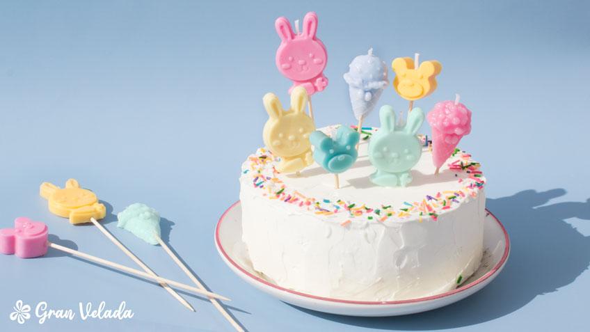 velas para bolos infantis
