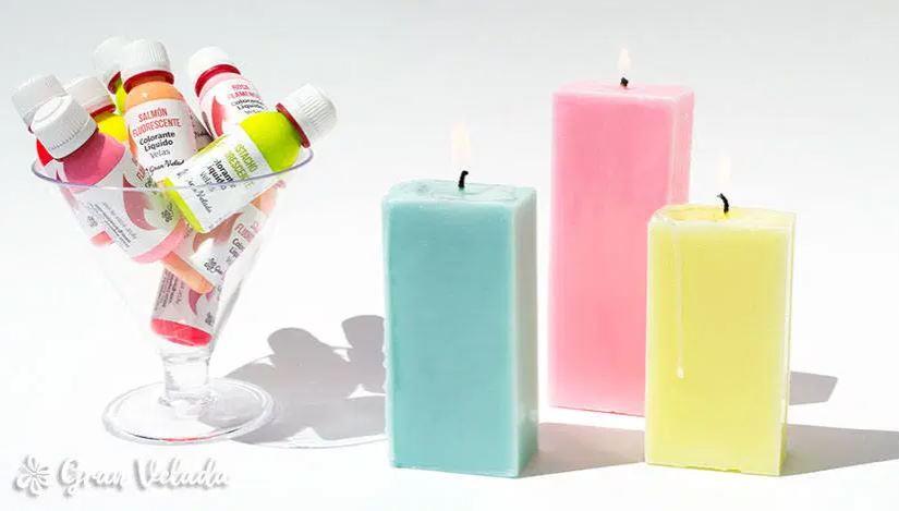 velas neon